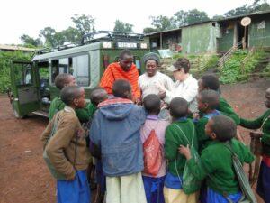 school children Tanzania photo safari