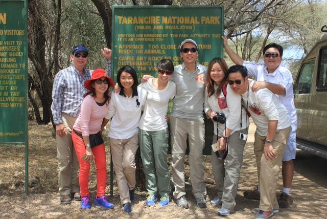 Enjoyig Tarangire National Park - Tanzania Safari - Proud African Safaris