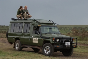 Tanzania Safari - Proud African Safaris Vehicle